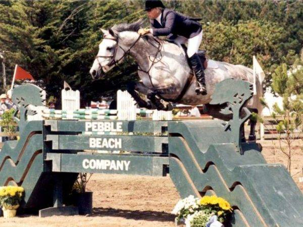 Jumping Horses - Pebble Beach USA