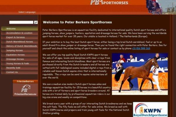 sporthorses website